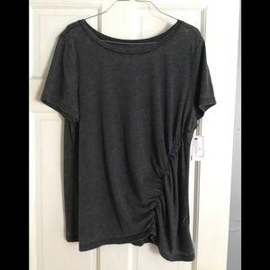 Short sleeve tunic top
